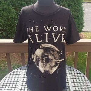UNISEX the word alive band tee